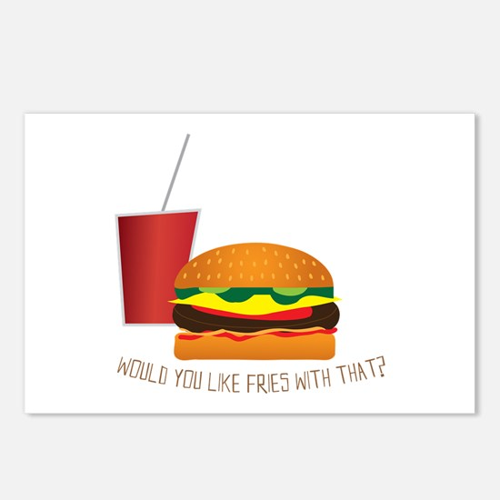 Fries with That Postcards (Package of 8)