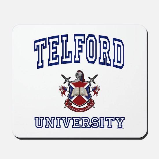 TELFORD University Mousepad