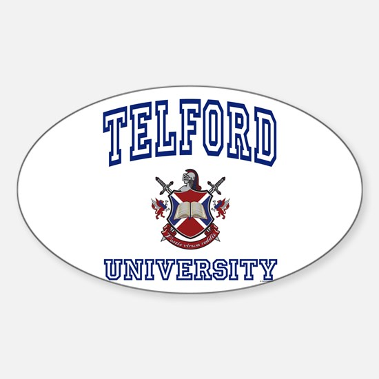 TELFORD University Oval Decal