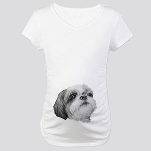 Shih Tzu Maternity T-Shirt