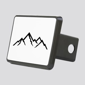Mountains Rectangular Hitch Cover