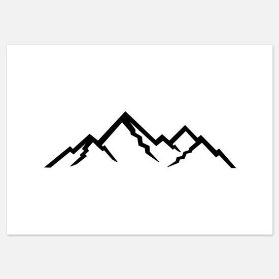 Mountains 5x7 Flat Cards