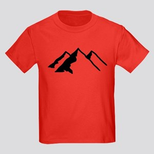 Mountains Kids Dark T-Shirt