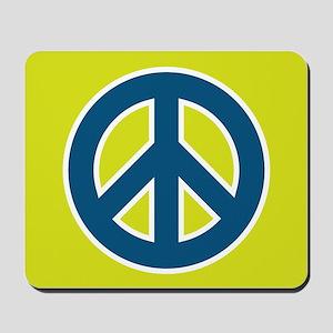 pop-art peace Mousepad