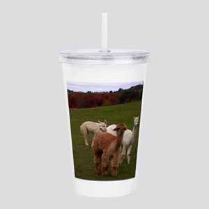3 Alpacas Acrylic Double-wall Tumbler
