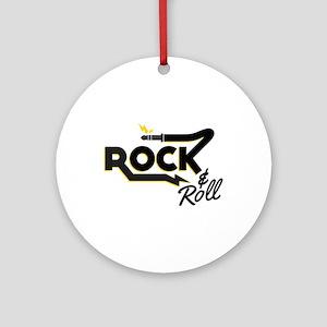 Rock & Roll Ornament (Round)