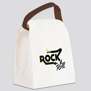 Rock & Roll Canvas Lunch Bag