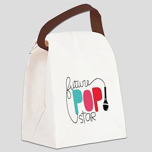 Future Pop Star Canvas Lunch Bag