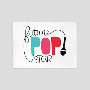 Future Pop Star 5'x7'Area Rug