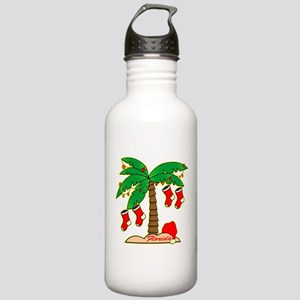 Florida Christmas Tree Stainless Water Bottle 1.0L
