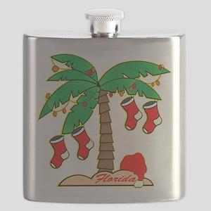 Florida Christmas Tree Flask