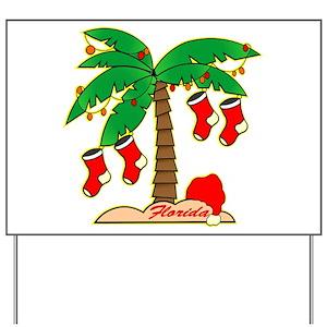 florida christmas yard signs cafepress - Florida Christmas