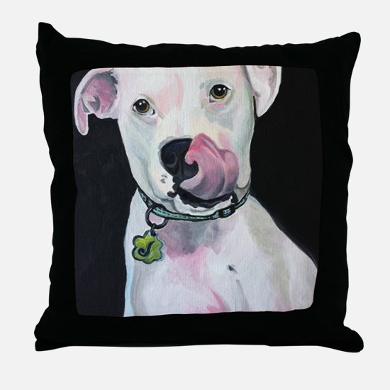 Cute Commission Throw Pillow