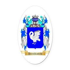 Hershkovits Oval Car Magnet