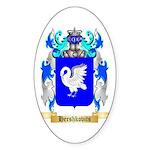 Hershkovits Sticker (Oval 10 pk)