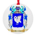Hershko Round Ornament
