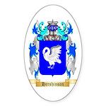 Hershinson Sticker (Oval)
