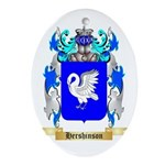Hershinson Ornament (Oval)
