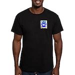 Hershenstrauss Men's Fitted T-Shirt (dark)