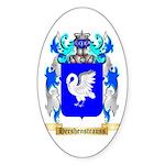 Hershenstrauss Sticker (Oval 50 pk)