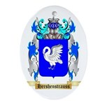 Hershenstrauss Ornament (Oval)