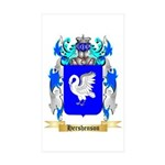 Hershenson Sticker (Rectangle 50 pk)