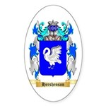 Hershenson Sticker (Oval 50 pk)