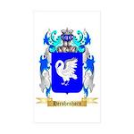 Hershenhorn Sticker (Rectangle 10 pk)