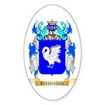 Hershenhorn Sticker (Oval 50 pk)