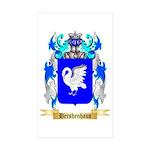 Hershenhaus Sticker (Rectangle 50 pk)