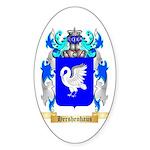 Hershenhaus Sticker (Oval)