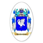 Hershenhaus Sticker (Oval 50 pk)