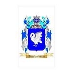Hershenbaum Sticker (Rectangle 10 pk)