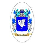 Hershenbaum Sticker (Oval 10 pk)