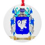 Hershcovitz Round Ornament