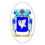 Hershbein Sticker (Oval 10 pk)