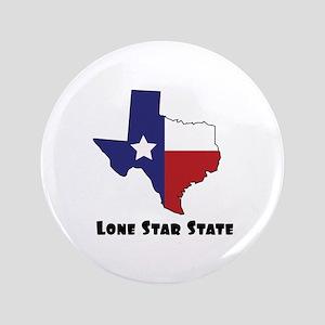 """Lone Star Texas 3.5"""" Button"""
