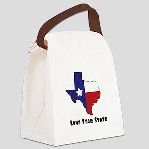 Lone Star Texas Canvas Lunch Bag