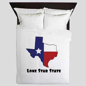 Lone Star Texas Queen Duvet