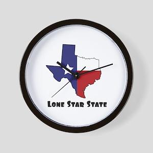 Lone Star Texas Wall Clock