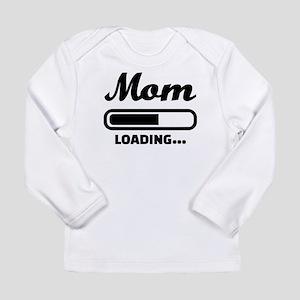 Mom loading pregnant Long Sleeve Infant T-Shirt