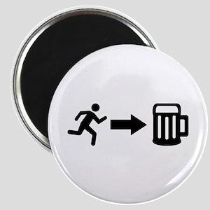 Run for beer Magnet