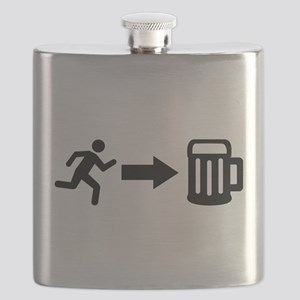 Run for beer Flask