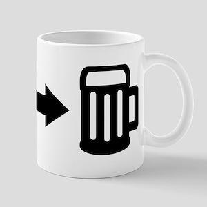 Run for beer Mug