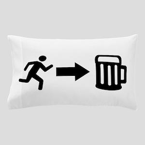 Run for beer Pillow Case