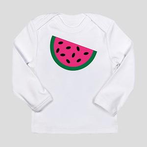 Watermelon Long Sleeve Infant T-Shirt