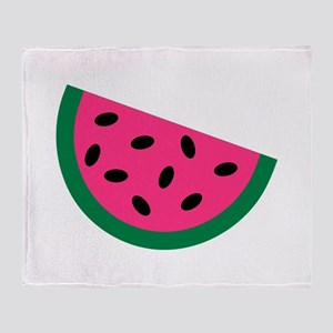 Watermelon Throw Blanket
