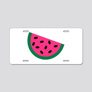 Watermelon Aluminum License Plate