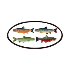 4 Char fish Patches