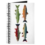 4 Char fish Journal